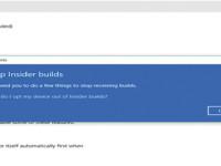 Windows 10 got a new option updates