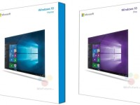 The first images of packaged distributions Windows 10